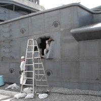 三笠被弾-ロケセット